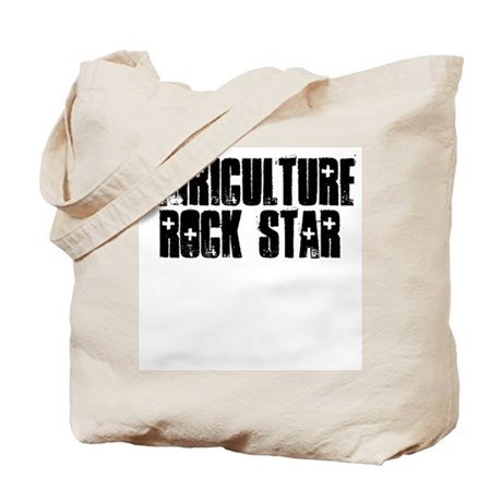 Agriculture Rock Star Tote Bag
