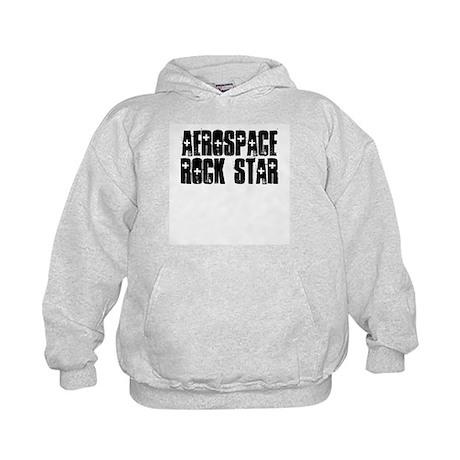 Aerospace Rock Star Kids Hoodie