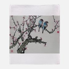 Cute Chinese Throw Blanket