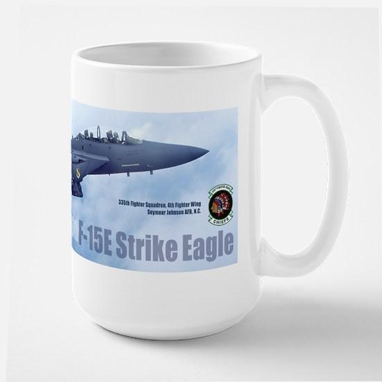 335th Fighter Squadron Large Mug