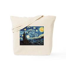 Unique Van gogh starry night Tote Bag