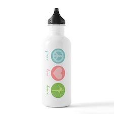Peace, Love & Dance Water Bottle
