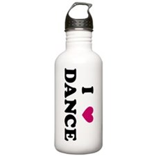 I Love Dance Water Bottle