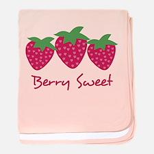 Berry Sweet baby blanket
