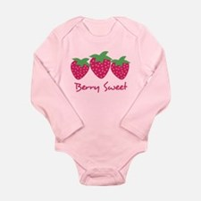 Berry Sweet Long Sleeve Infant Bodysuit