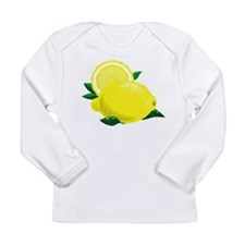 Lemons Long Sleeve Infant T-Shirt
