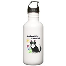 """Rescued Cat"" Water Bottle"