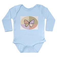 Butterfly218 Long Sleeve Infant Bodysuit