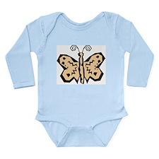 Butterfly203 Long Sleeve Infant Bodysuit