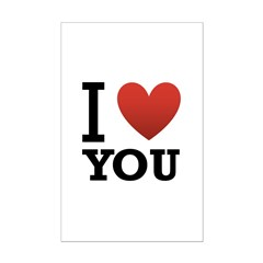I Love You Posters