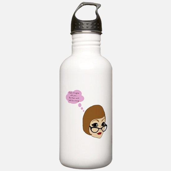 Riyah-Li Designs Gosh I'd Agree With You Water Bottle