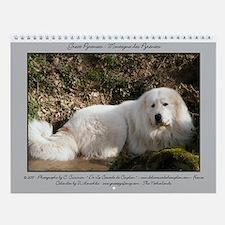 Great Pyrenees Wall Calendar - Berger....