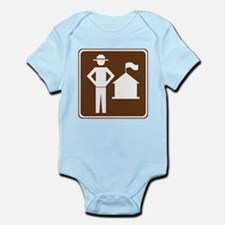 Ranger Station Sign Infant Bodysuit