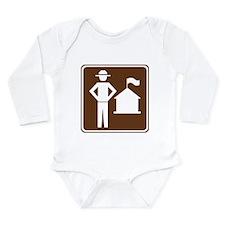 Ranger Station Sign Long Sleeve Infant Bodysuit
