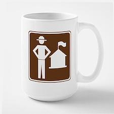 Ranger Station Sign Mug