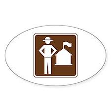 Ranger Station Sign Decal