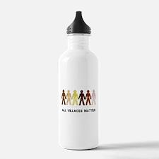 Riyah-Li Designs All Villages Matter Water Bottle