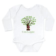 Tree Hugger Long Sleeve Infant Bodysuit