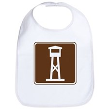 Lookout Tower Sign Bib