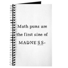 Math puns sine of madness Journal