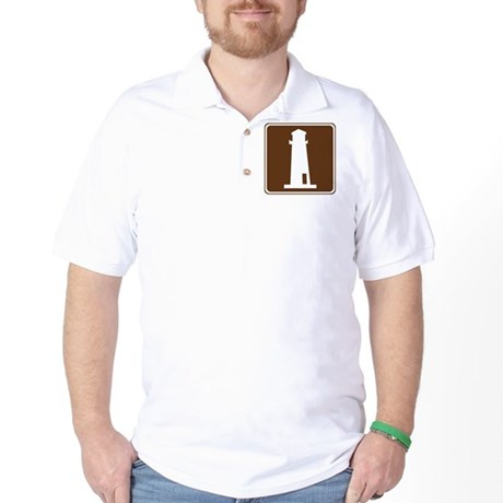 Lighthouse Sign Golf Shirt