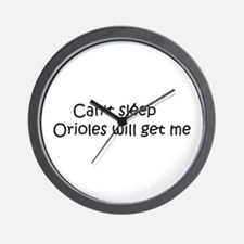 Can't sleep, Orioles will get Wall Clock