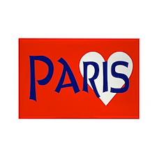 Paris Rectangle Magnet Magnets