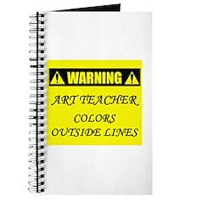 WARNING: Art Teacher Journal