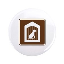 "Kennel Sign 3.5"" Button (100 pack)"