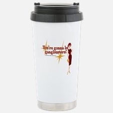 Mad Men Gangbusters Stainless Steel Travel Mug