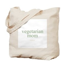 vegetarian mom Tote Bag