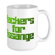Hackers For Assange Wikileaks Mug