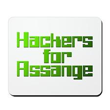 Hackers For Assange Wikileaks Mousepad