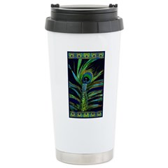 PEACOCK IN FEATHER Travel Mug