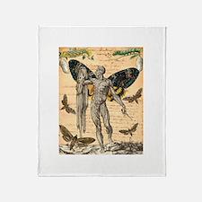 Metamorphosis Throw Blanket