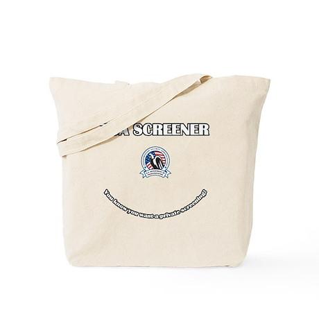 TSA - Private Screener Tote Bag