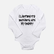 Listen To Death Metal With Da Long Sleeve Infant B