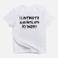Black Metal With Daddy Infant T-Shirt