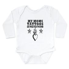 My Mom's Tattoos Long Sleeve Infant Bodysuit
