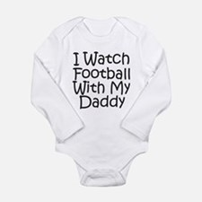 Watch Football With Daddy! Baby Suit