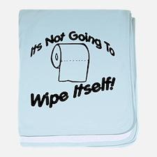Wipe Itself baby blanket