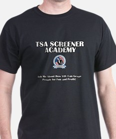 TSA Academy - Groping for Fun T-Shirt