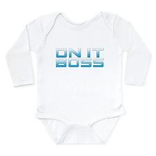 Cute Jethro gibbs Long Sleeve Infant Bodysuit