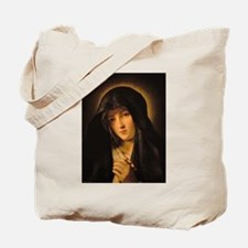 Funny Blessed virgin Tote Bag