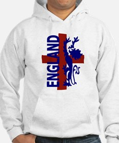 St George and lion Hoodie