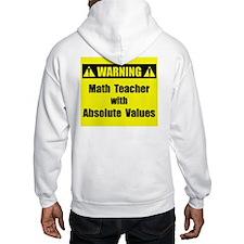 WARNING: Math Teacher 2 Hoodie