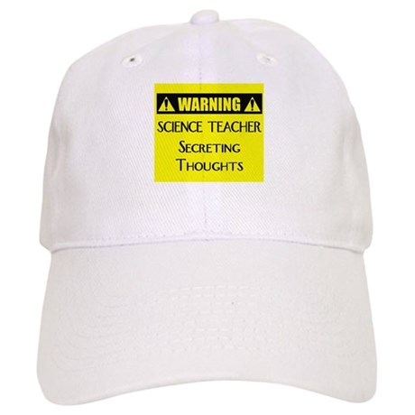 WARNING: Science Teacher Cap