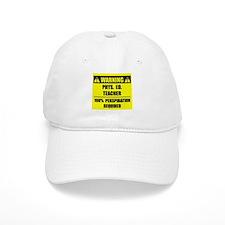WARNING: P.E. Teacher Baseball Cap