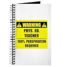 WARNING: P.E. Teacher Journal