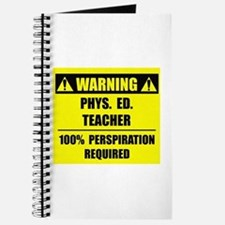 WARNING: P.E. Teacher Journal
